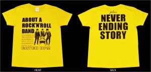 ■ About A Rcok'n'Roll Band Tシャツ