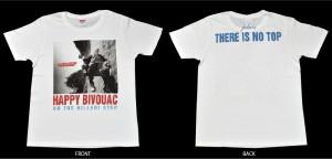 HAPPY BIVOUAC Tシャツ