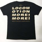 Locomotion, more! more!  Vネック Tシャツ BACK