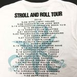 STROLL AND ROLL TOUR Tシャツ BACK